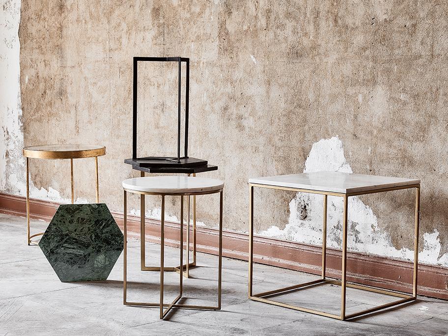 Unsere Marmor-Tisch-Serie ALYS