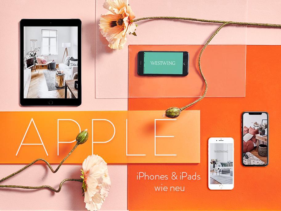 Apple iPhones & iPads wie neu