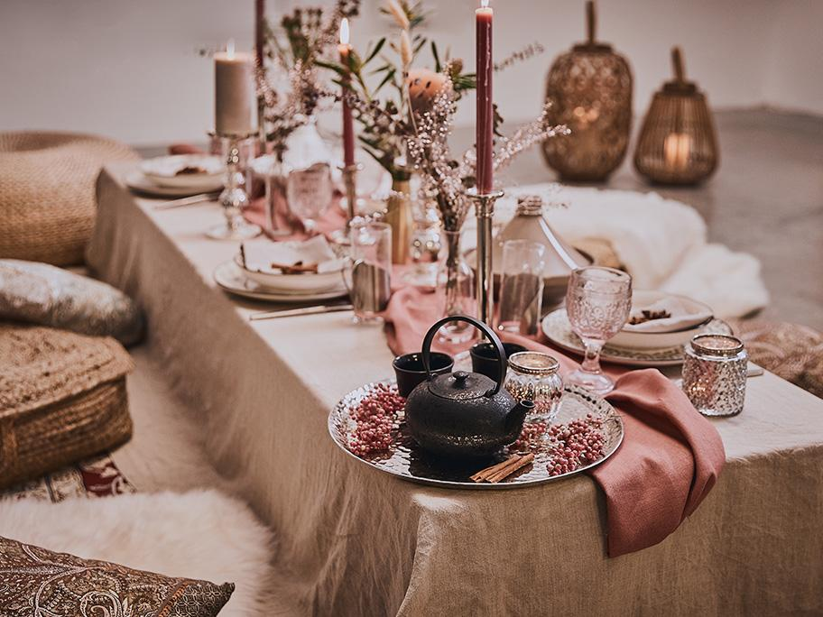 Tisch-Trend: Orientzauber