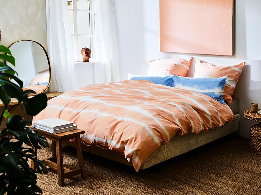 Der Batik-Trend fürs Bett