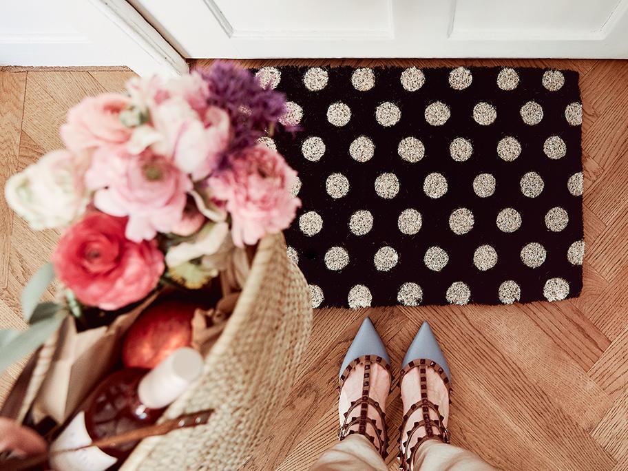 Blickfang: Fußmatte