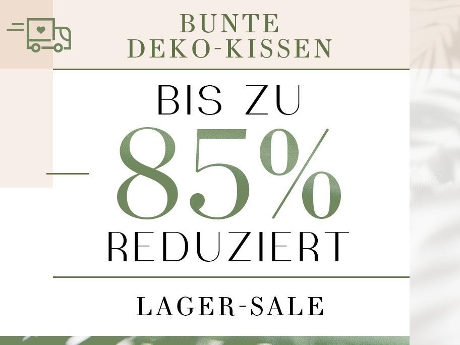 Bunte Deko-Kissen