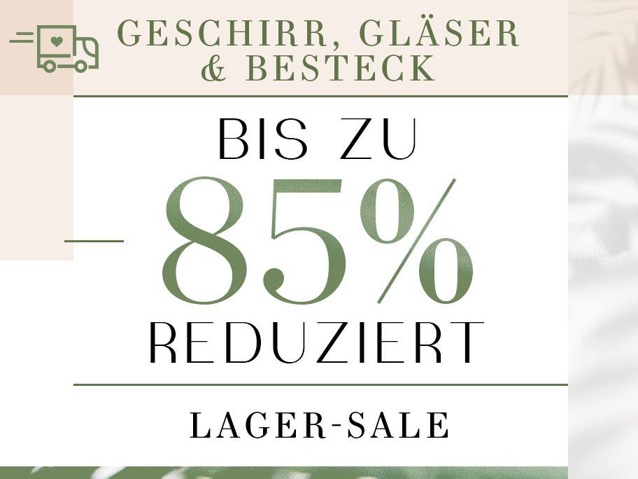 Geschirr, Gläser & Besteck