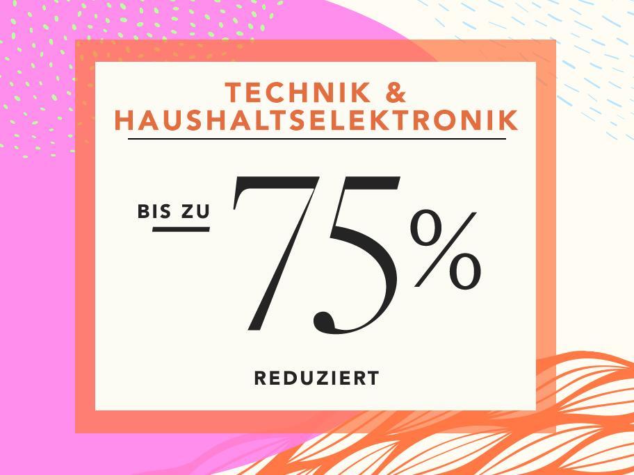 Technik & Haushaltselektronik