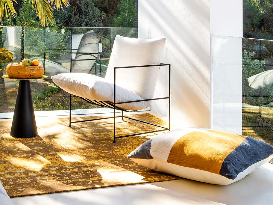 Teppiche im Sommer-Look