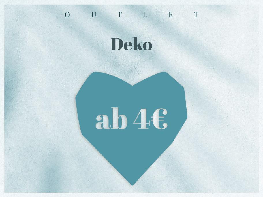 Deko-Outlet ab 4 €