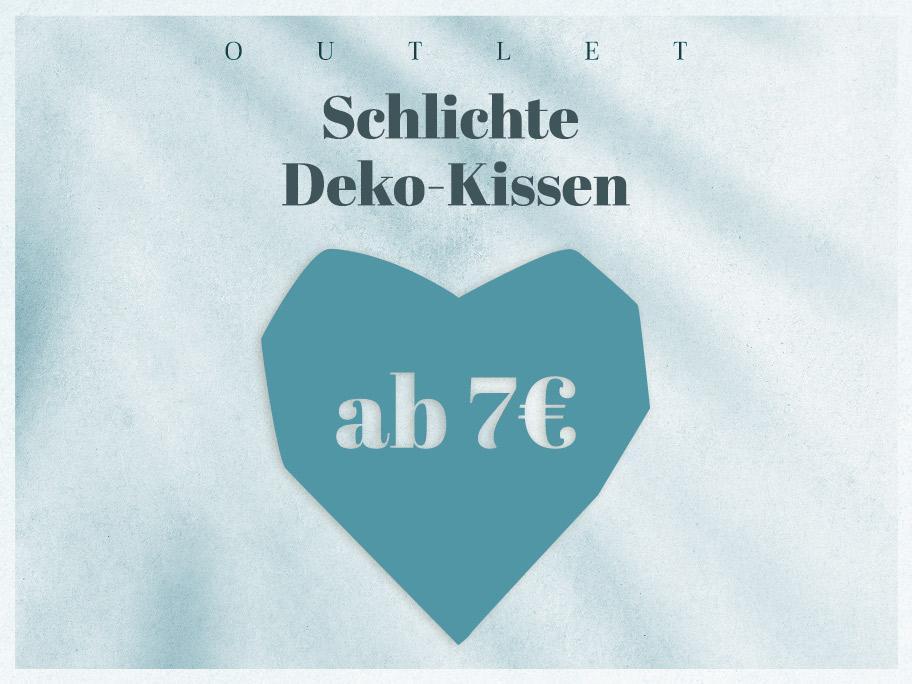 Uni-Kissen-Outlet ab 7 €