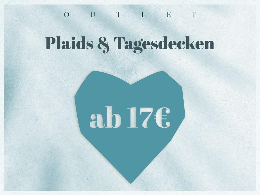 Tagesdecken-Outlet ab 17 €