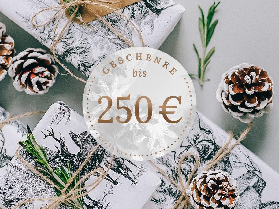 Geschenke bis 250 €