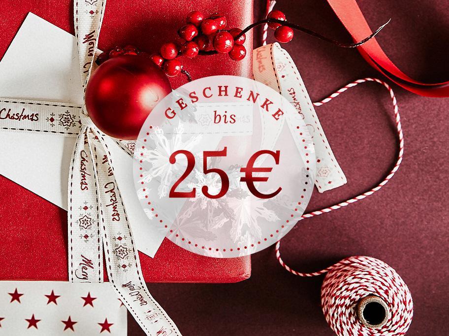 Geschenke bis 25 €