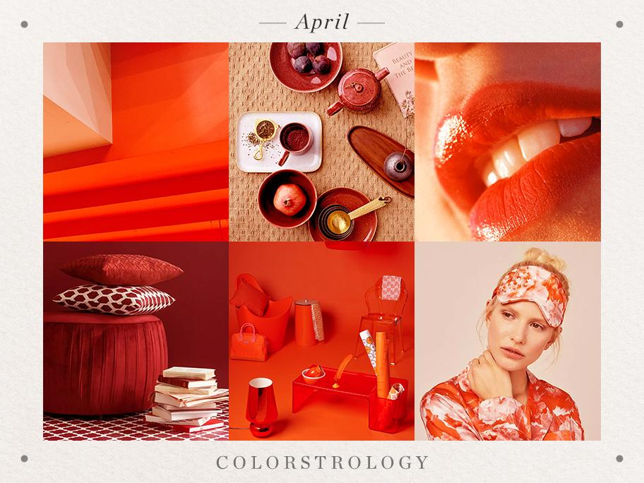 April: Geburtsfarbe Cayennerot