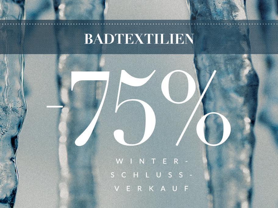 Textilien fürs Bad