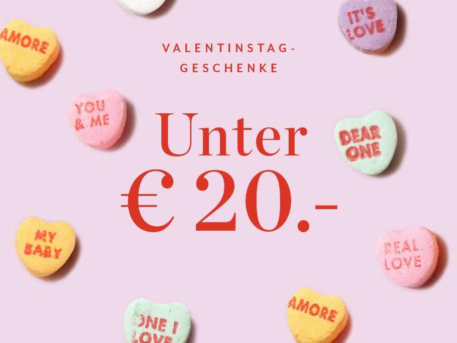 Geschenke unter 20€