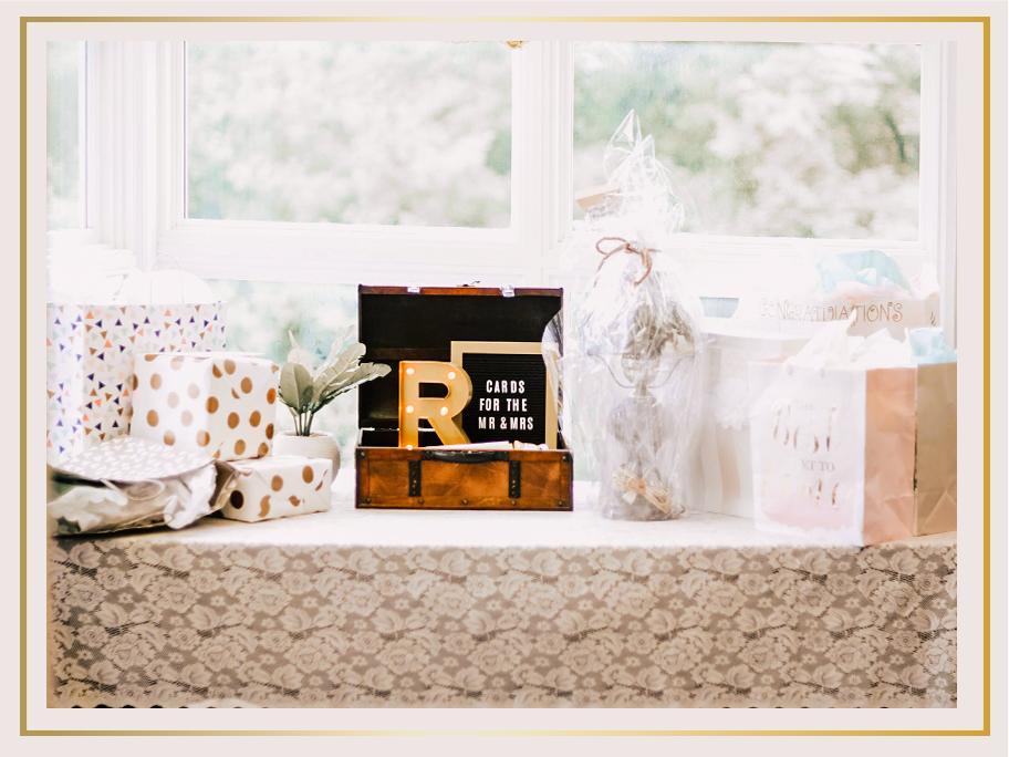 Besondere Hochzeitsgeschenke