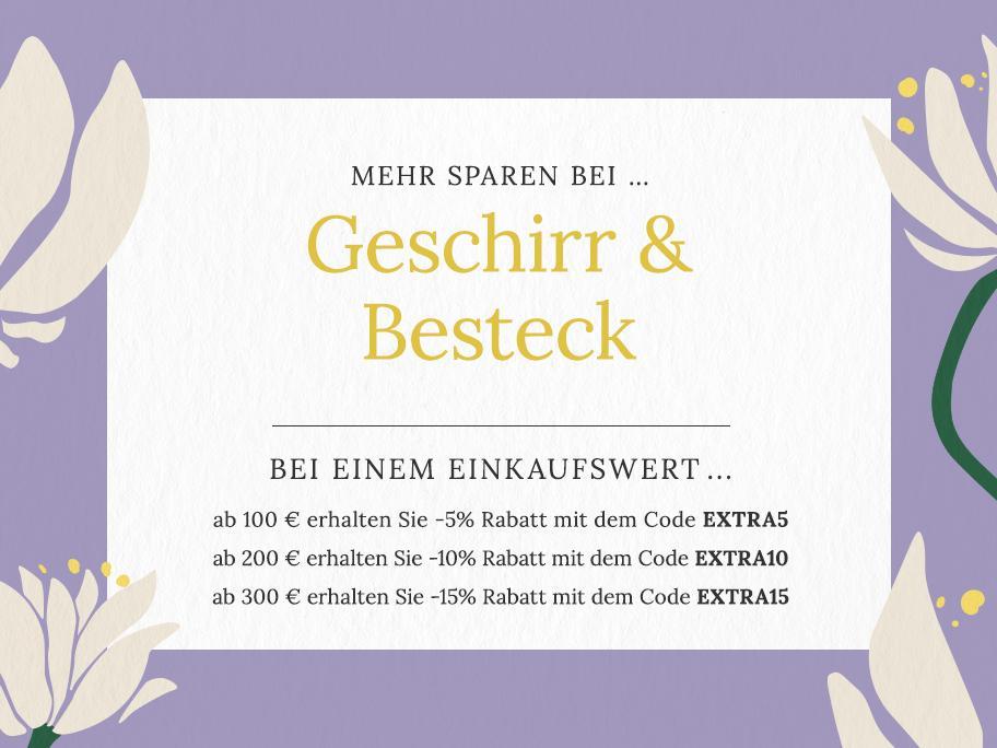 Geschirr & Besteck ...