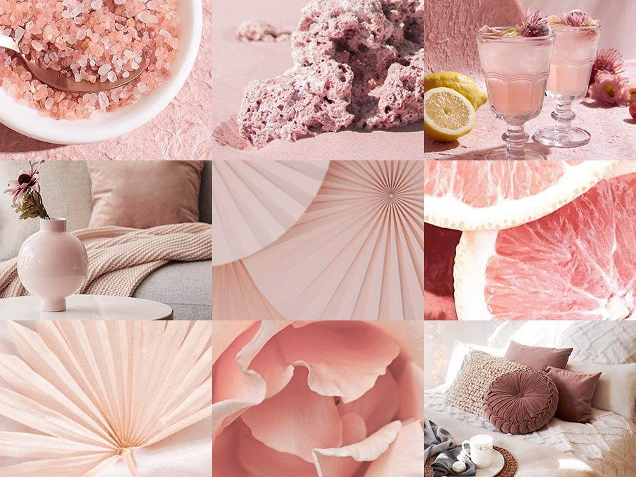 Inspirierendes Rosé