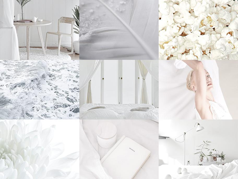 Luftig-leichtes Weiß