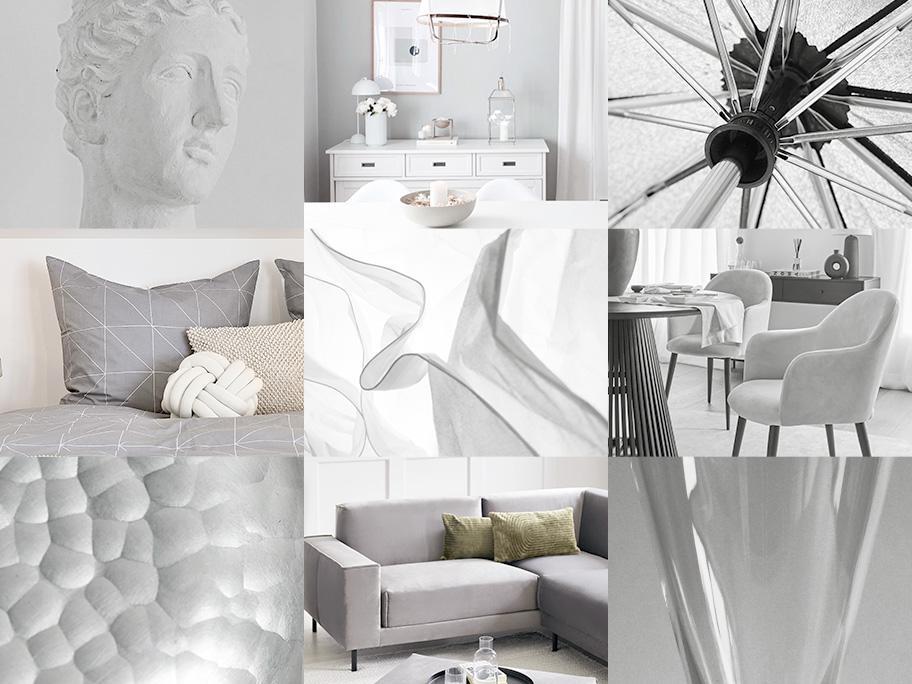 Entspanntes Grau