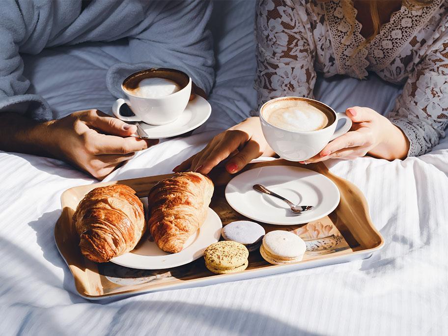 Fürs Frühstück im Bett