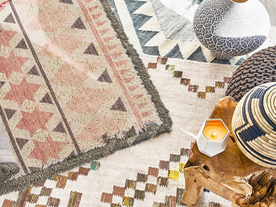 Teppiche im Boho-Style