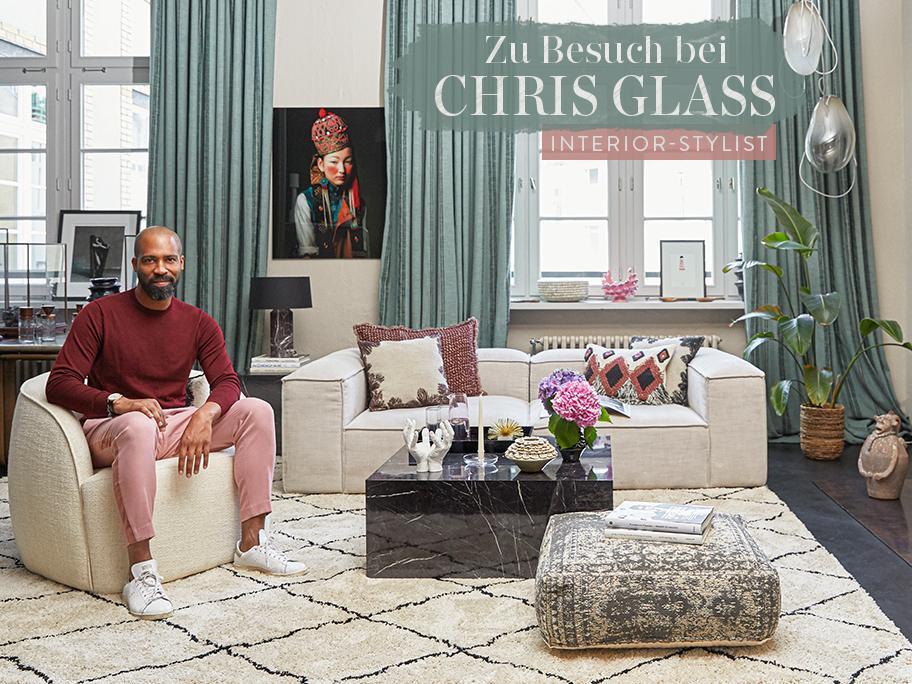 Zu Besuch bei Chris Glass