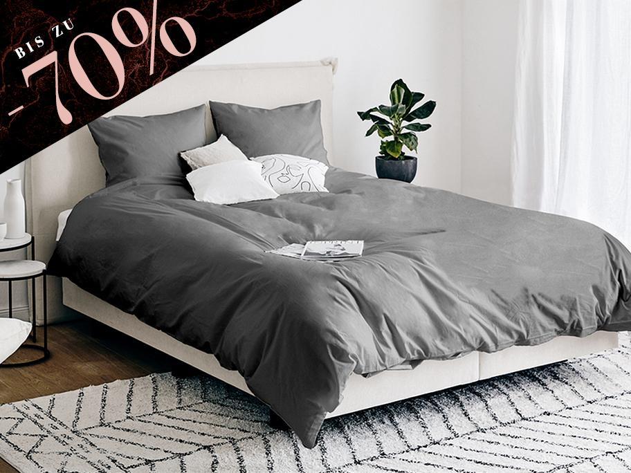 Zeitlose Bettwäsche-Basics