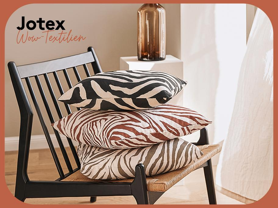 Jotex: Textilien & Teppiche