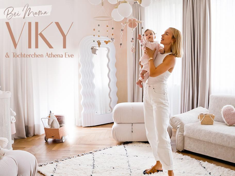 Das Babyzimmer von Viky Rader