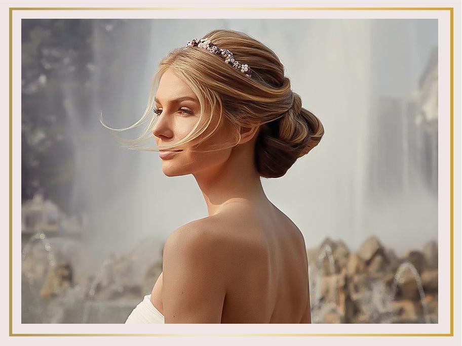 Romantische Haar-Accessoires