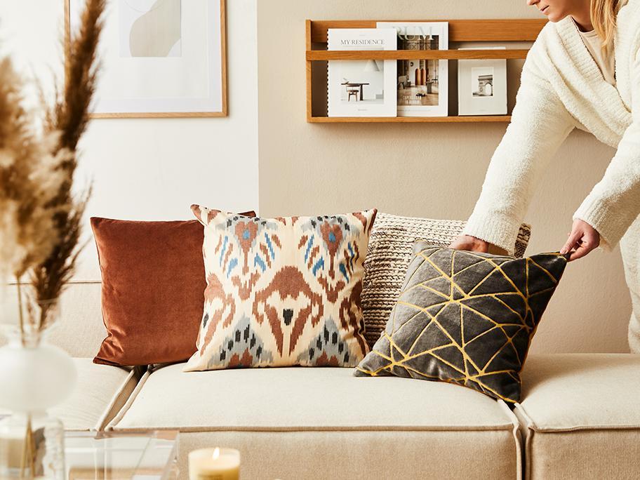 Unsere Couch-Kissen-Tricks