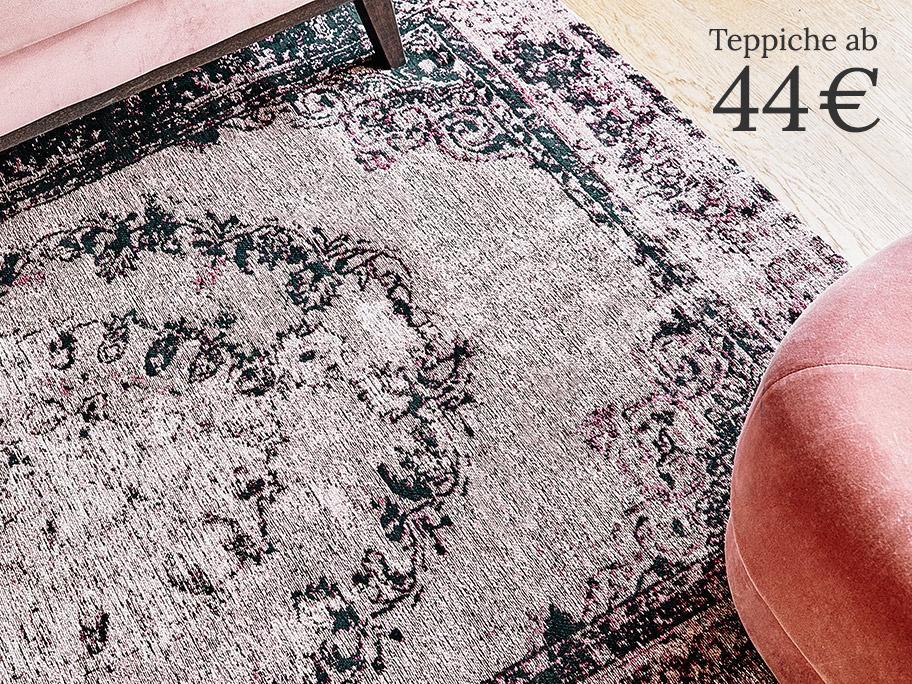 Teppiche im Vintage-Look