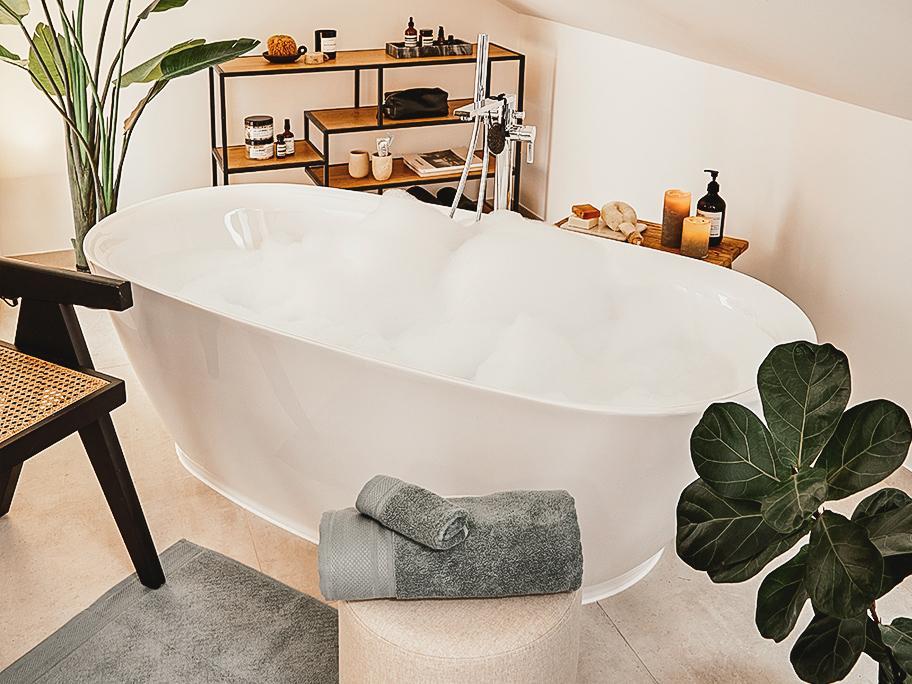Das saubere Badezimmer