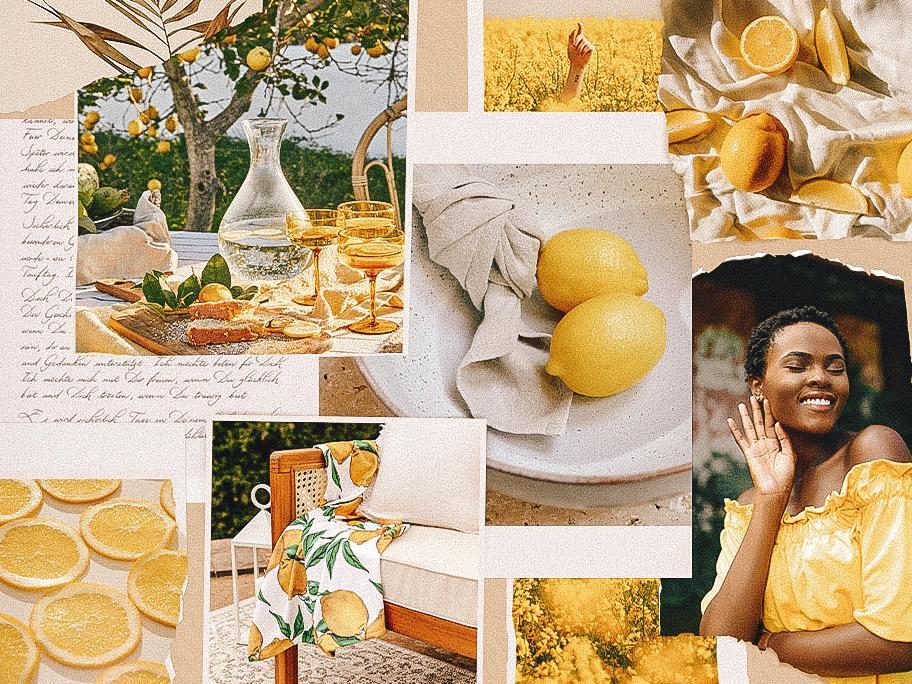 Zitronen machen Laune!