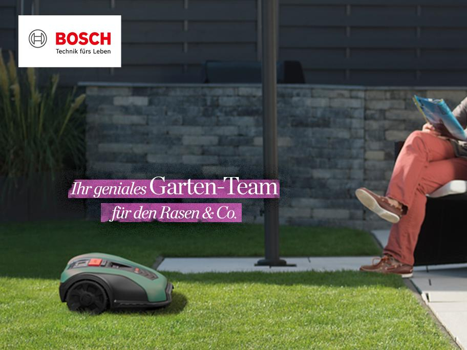 Bosch Roboter-Rasenmäher & Co.