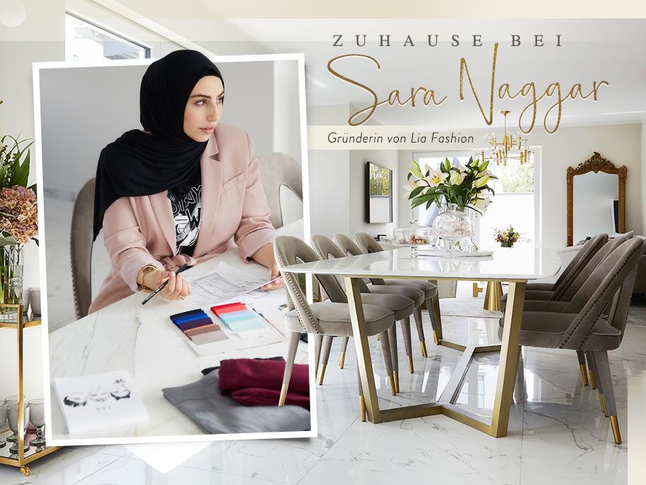 Zu Besuch bei Sara Naggar