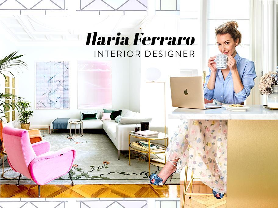 Zu Besuch bei Ilaria Ferraro