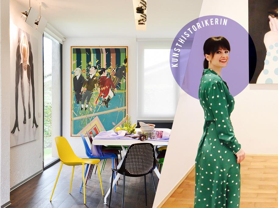 Das Zuhause als Kunstgalerie