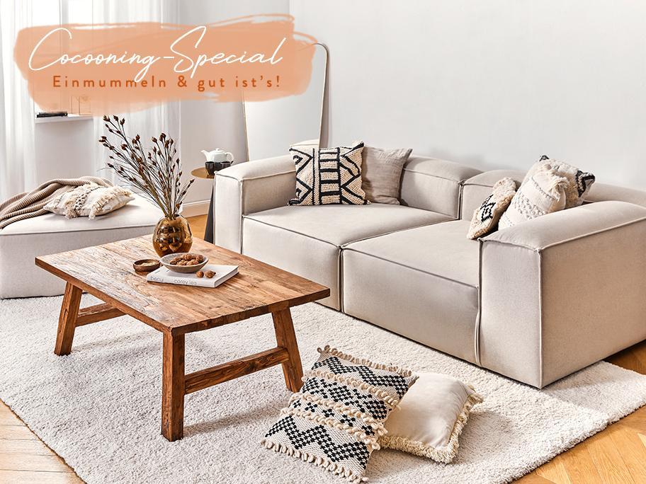 Cozy-Update fürs Wohnzimmer