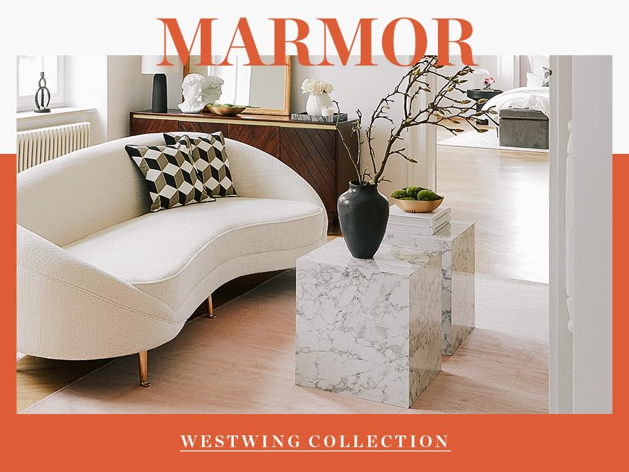 Glamouröser Marmor-Look