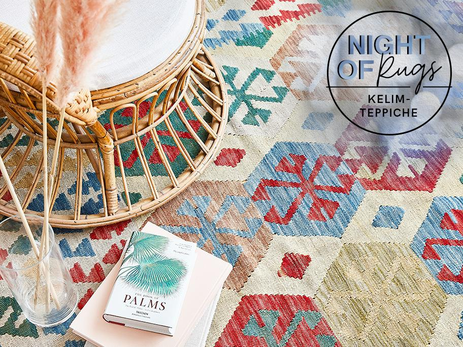 Teppiche im Kelim-Style