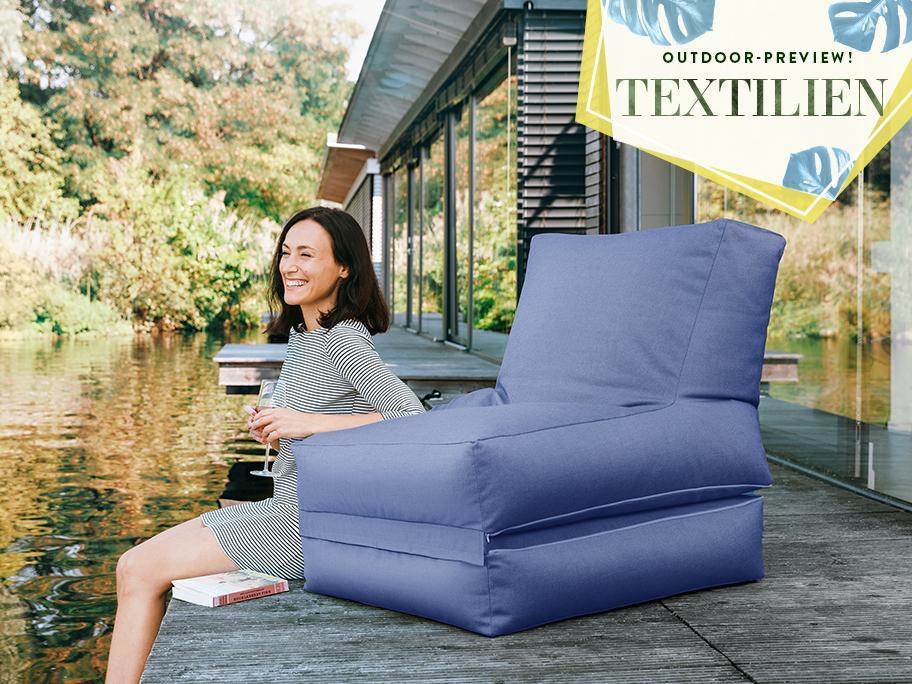 Relaxte Outdoor-Textilien