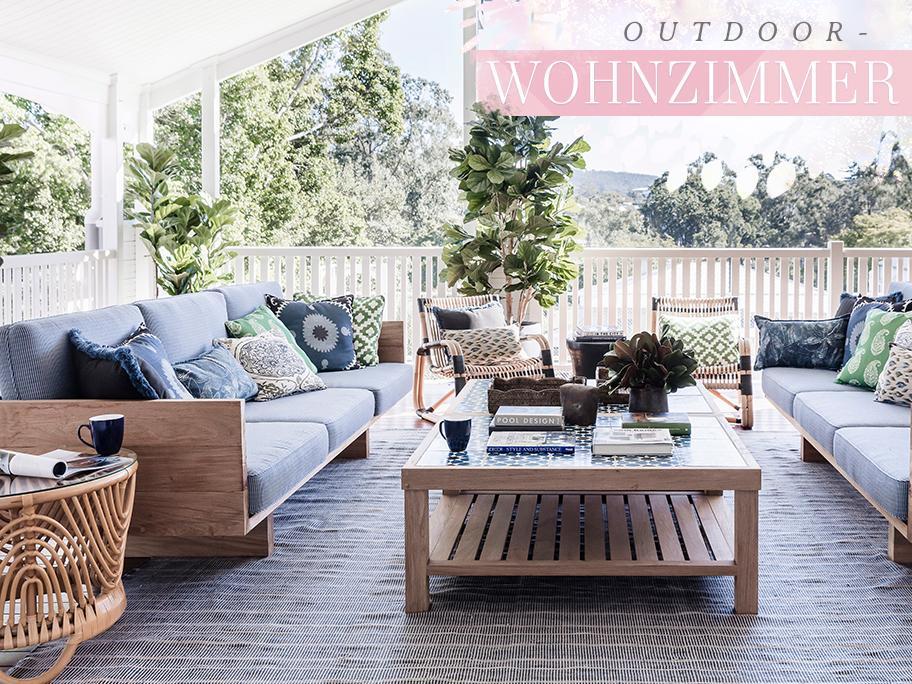 Gemütliches Outdoor-Wohnzimmer