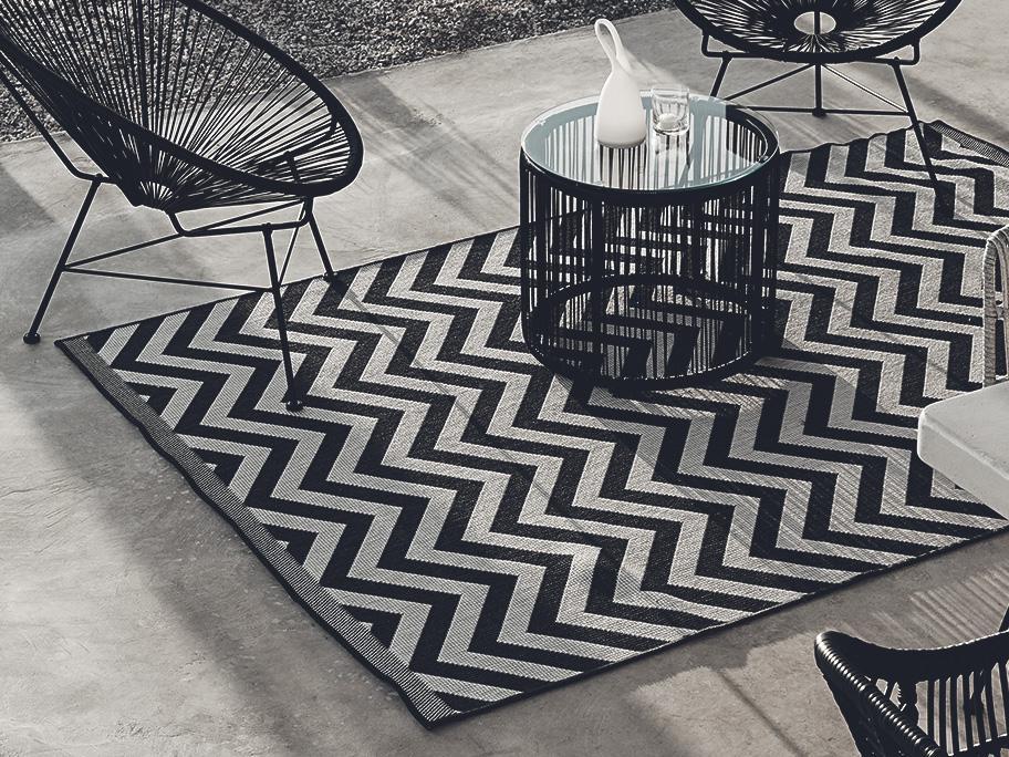 Teppiche für Terrasse & Co.