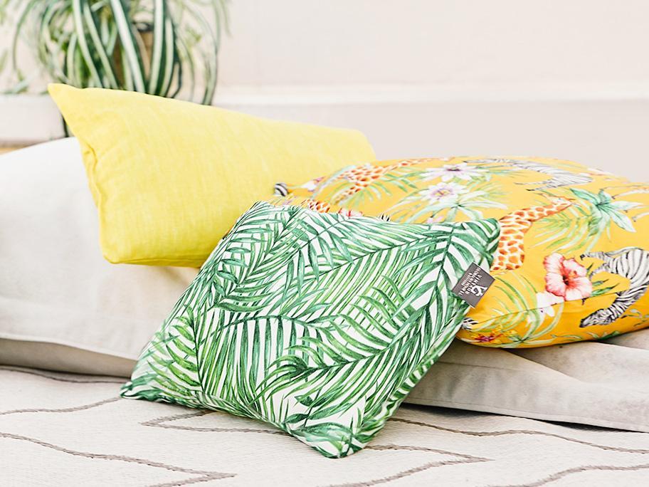 Styling mit Outdoor-Textilien