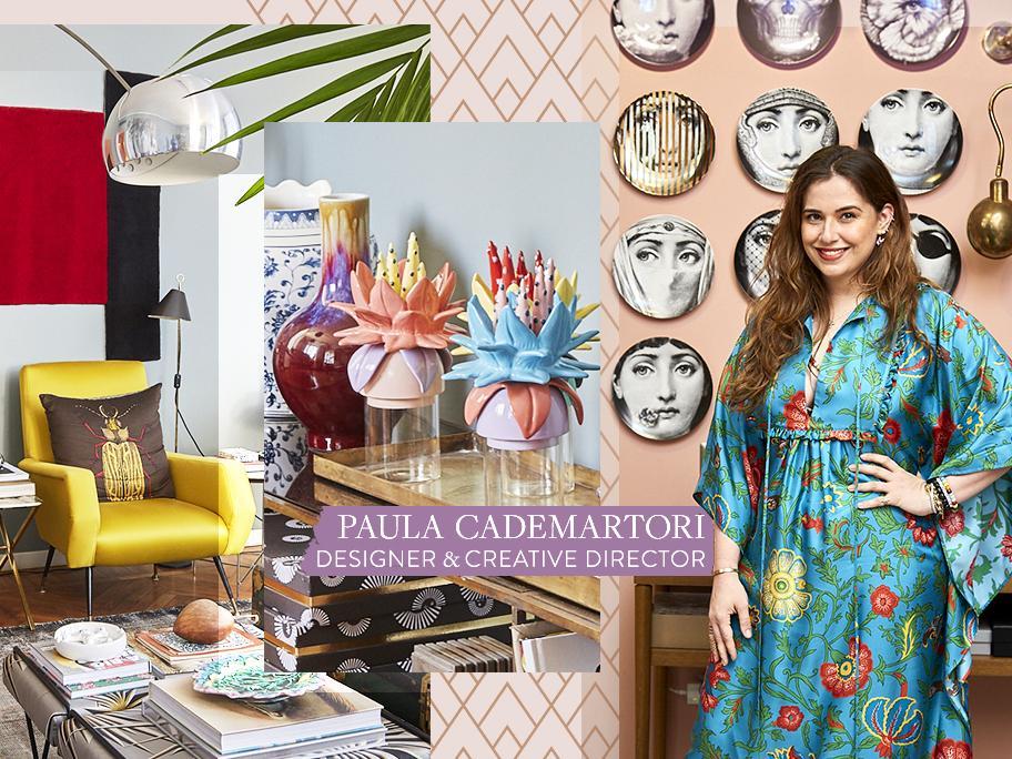 Zu Hause bei Paula Cademartori