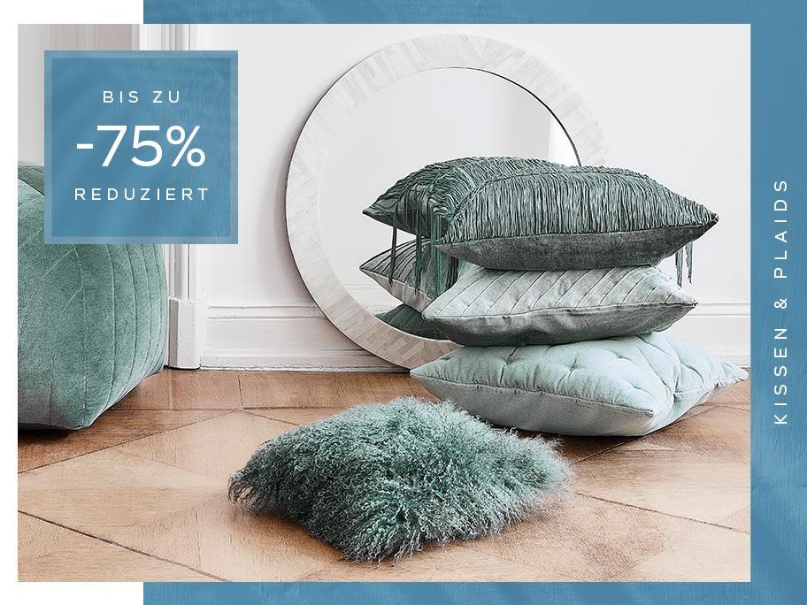 Textilien mit bis zu -75%