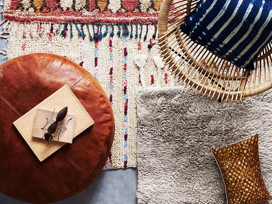 Teppichkunst aus Marokko