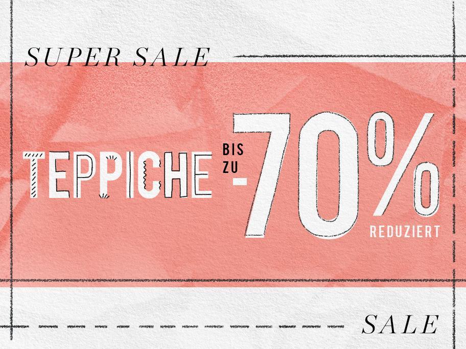 Teppich-Vielfalt bis zu -70%