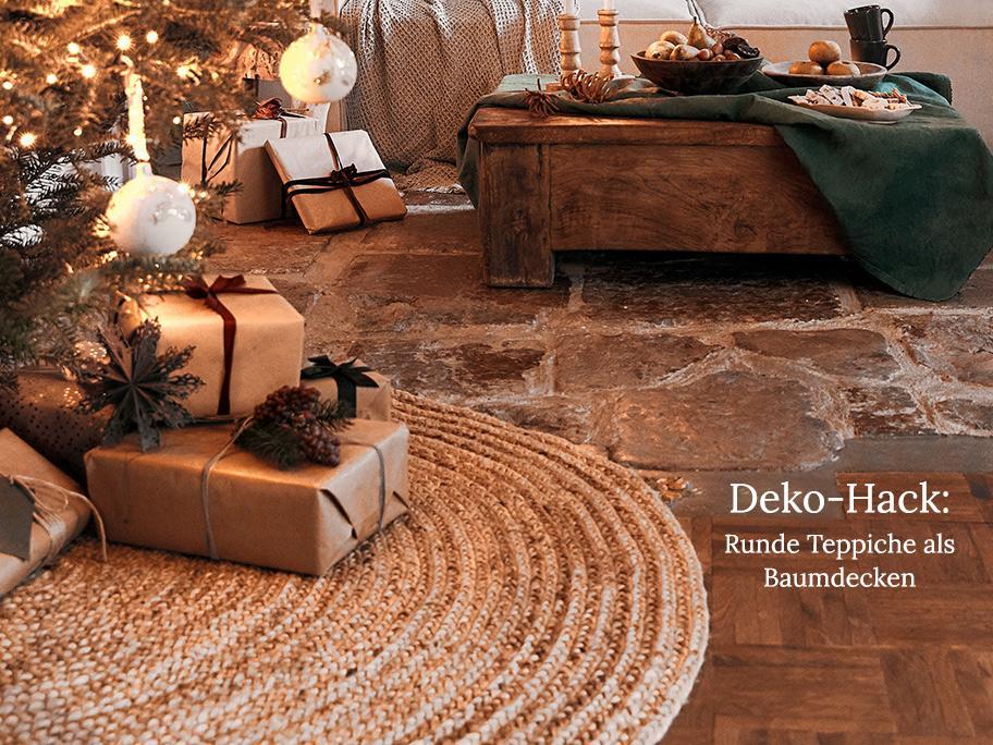 Runde Teppiche, die wir lieben