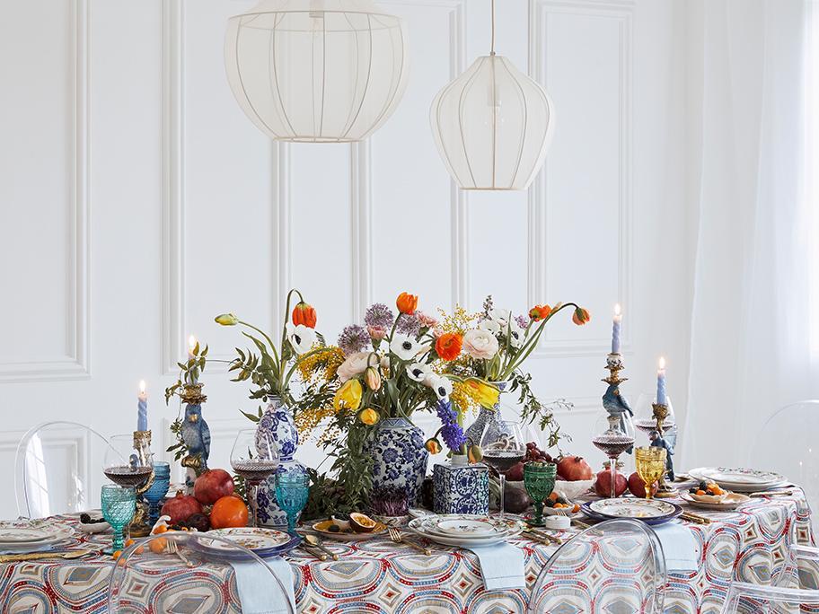 Tisch-Trend: Frühlingsopulenz